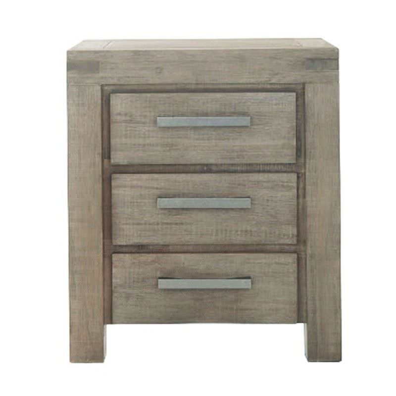 Camden Solid Acacia Timber Bedside Table