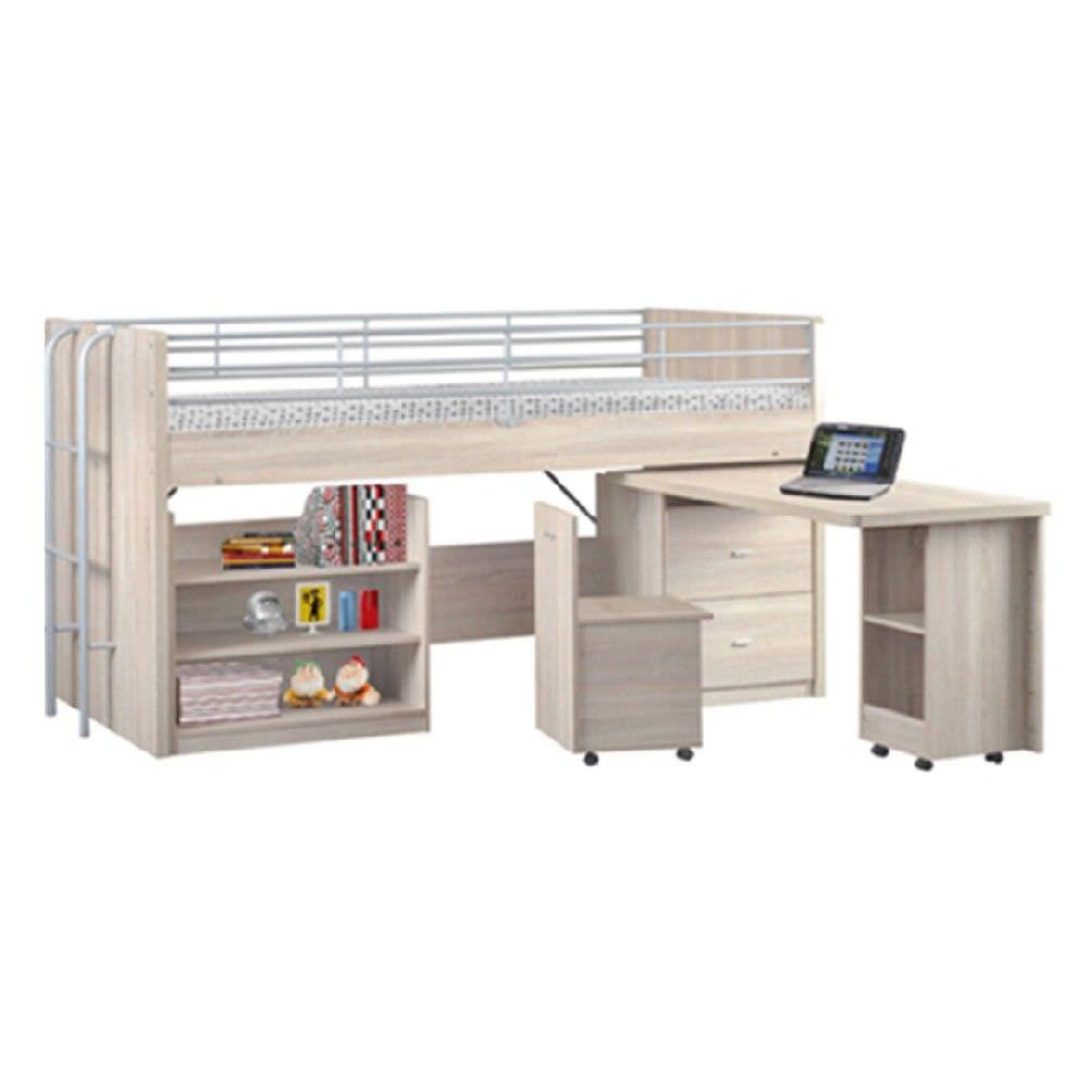 Kobi Cabin Bed with Desk