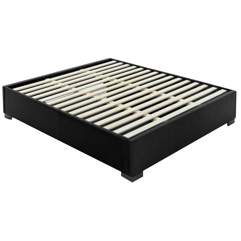 McLaren Fabric Ensemble Bed Base, King, Midnight