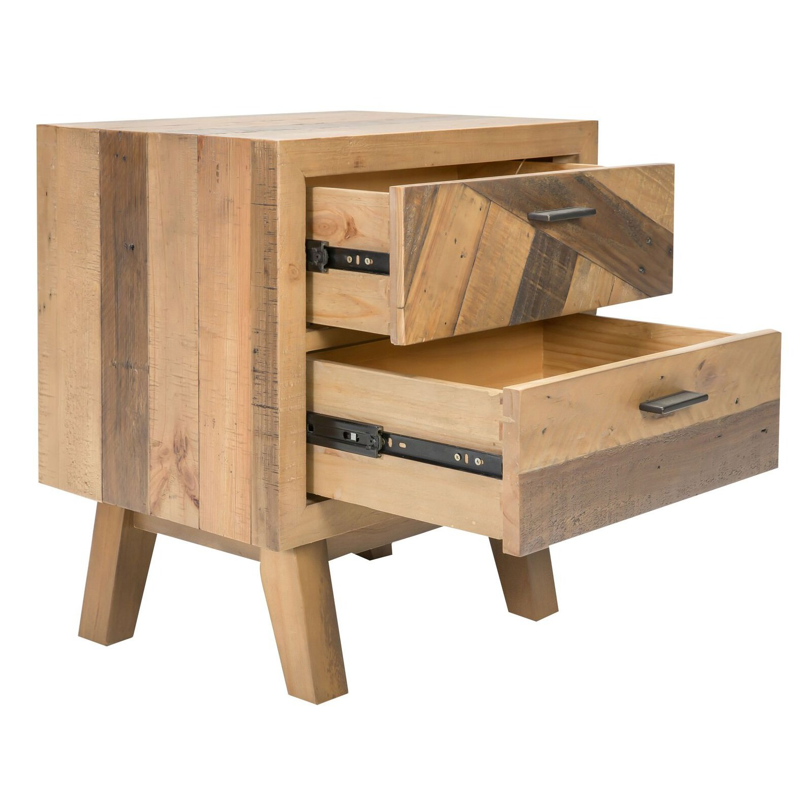 Tallon Recycled Pine Timber Bedside Table