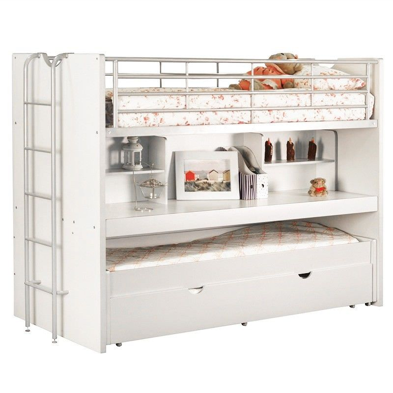 Trilogy Single Bunk Bed with Trundle