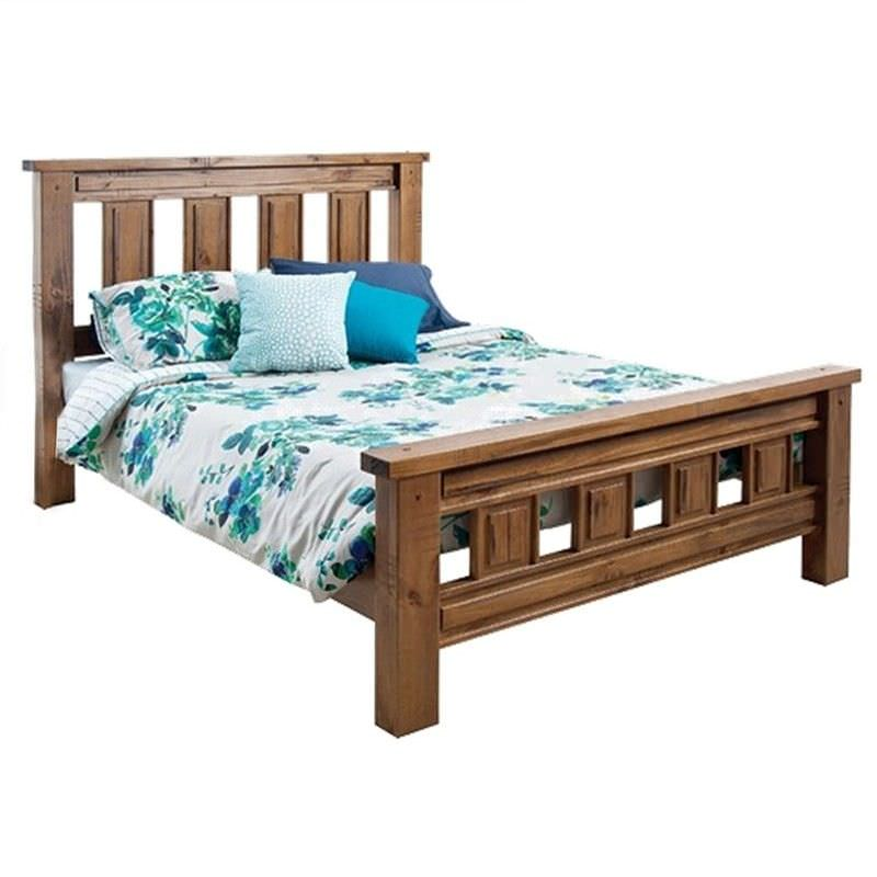 Astwood Solid Pine Timber Queen Bed