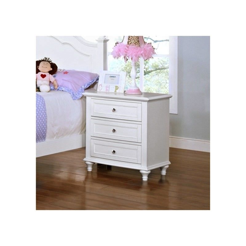 Connie Wooden Bedside Table