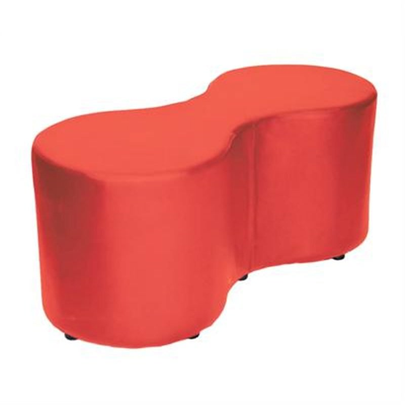 Amoeba Commercial Grade 2 Seater Bench - Red