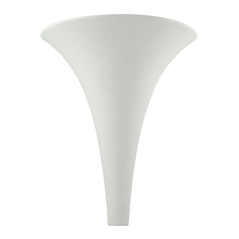 Italian Made Ceramic Wall Light - Skinny Cone