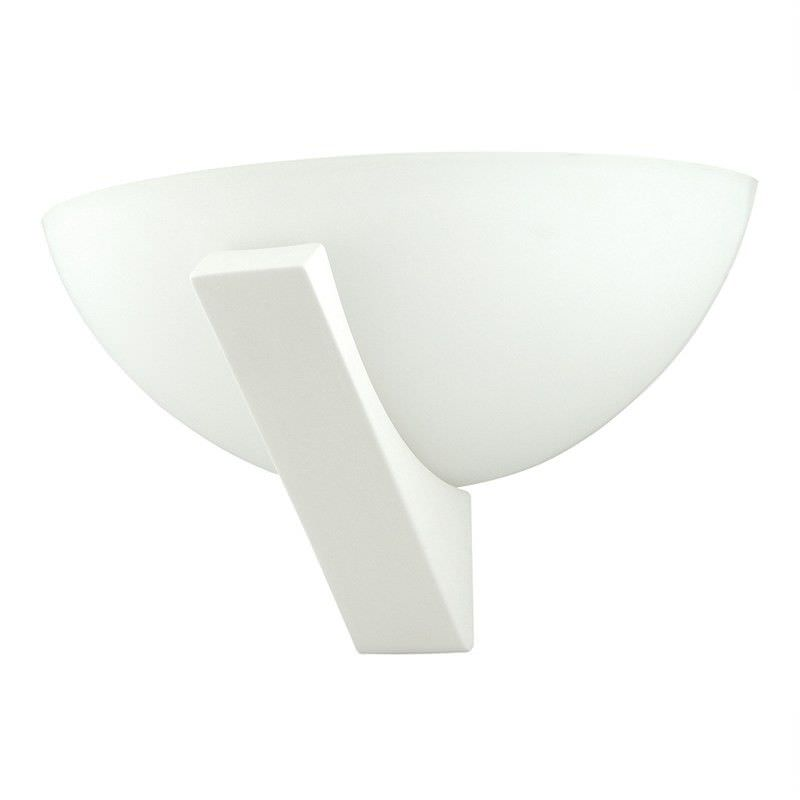 Italian Made Ceramic Wall Light - Curved with Base