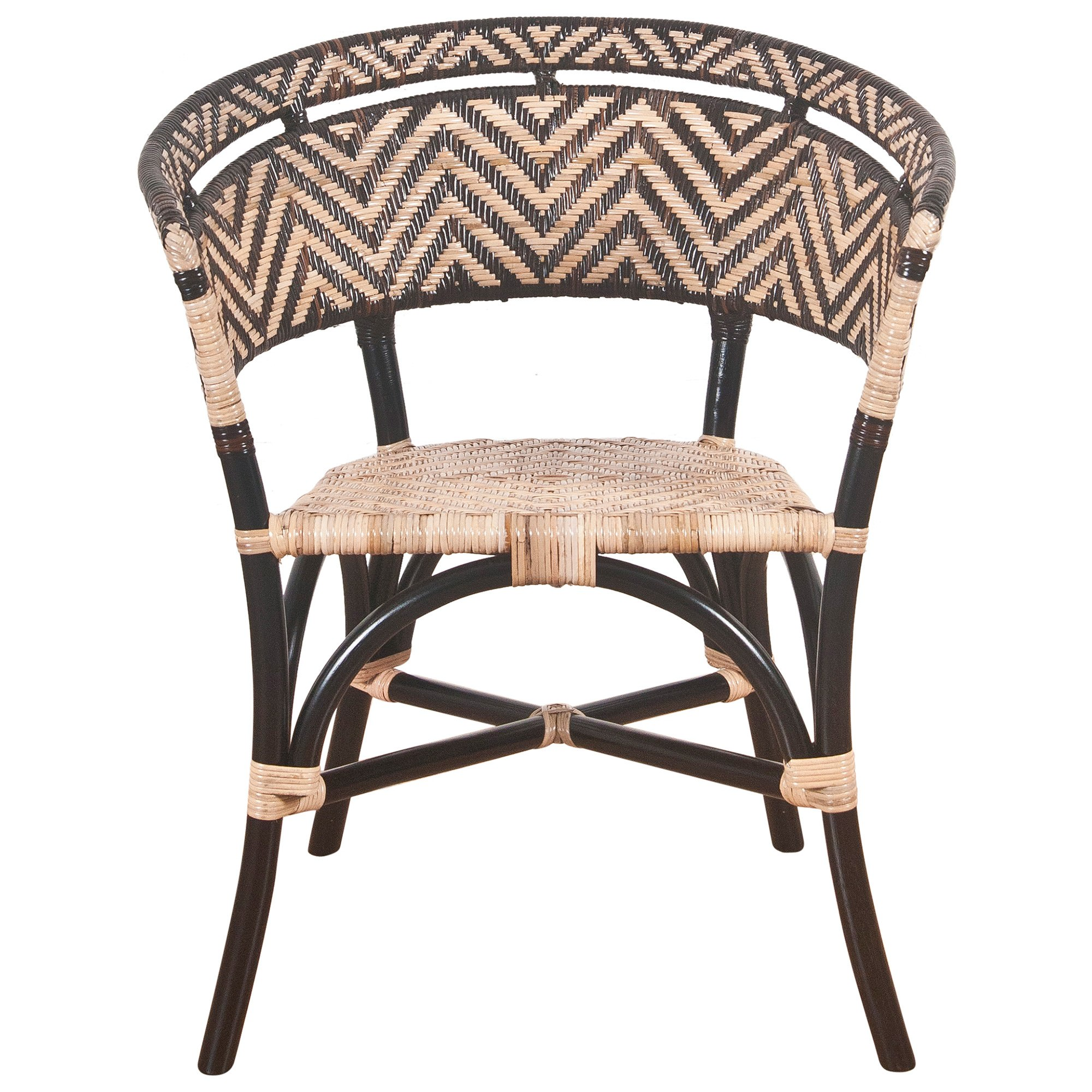 Wil Stanley Rattan Dining Armchair