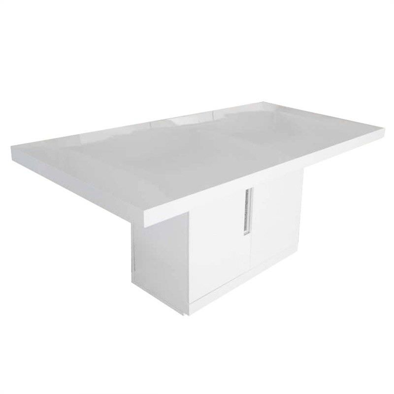 Dalora High Gloss 180cm Dining Table