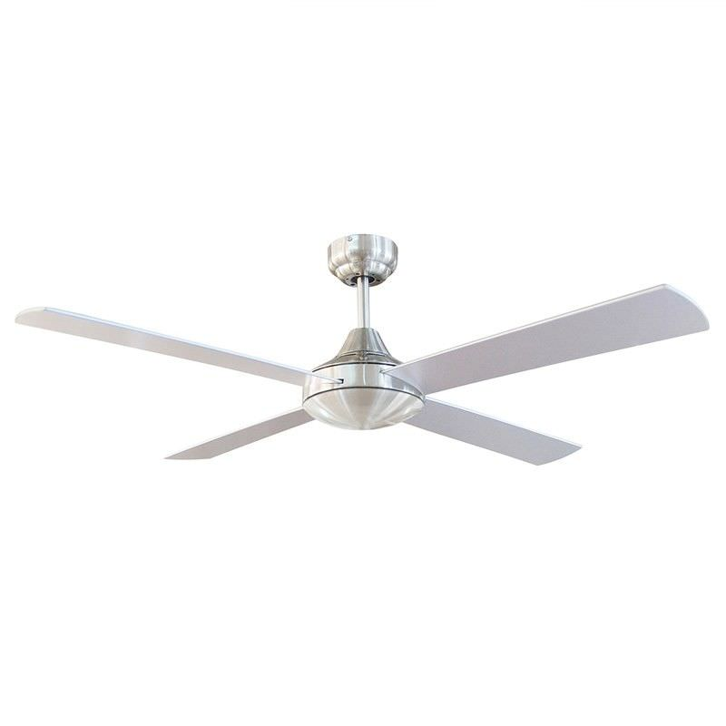 Tempo 48 Inch Ceiling Fan - Brushed Aluminium