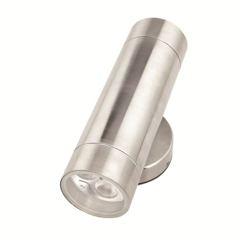 Vision Up and Down IP65 Exterior LED Wall Light - Anodised Aluminium