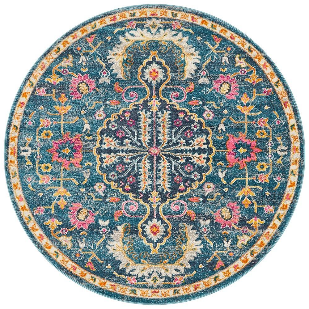 Babylon Titania Bohemian Round Rug, 240cm