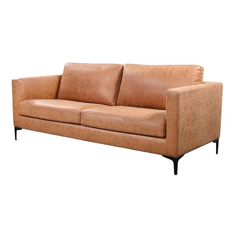 Rylan Commercial Grade Fabric Sofa, 3 Seater, Tan