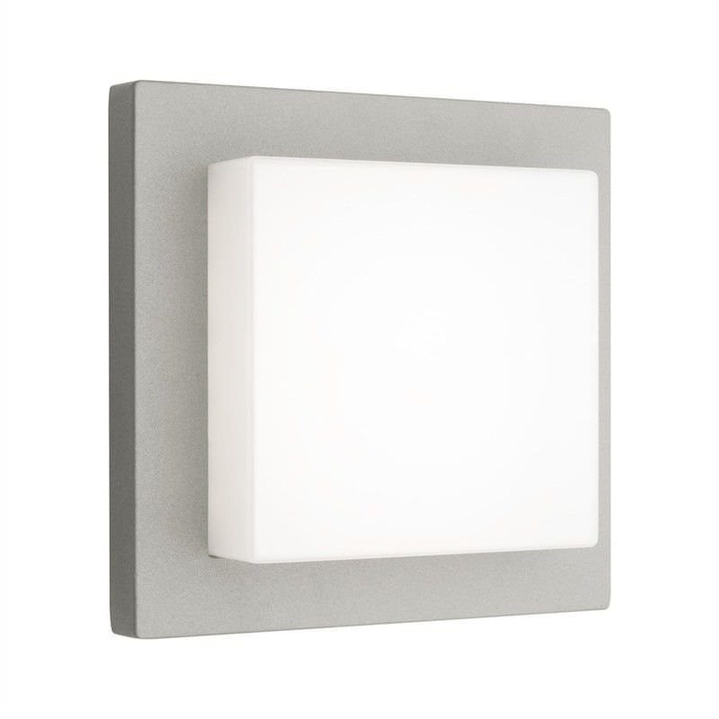 Bodo Aluminium IP54 Exterior LED Wall Light - Silver