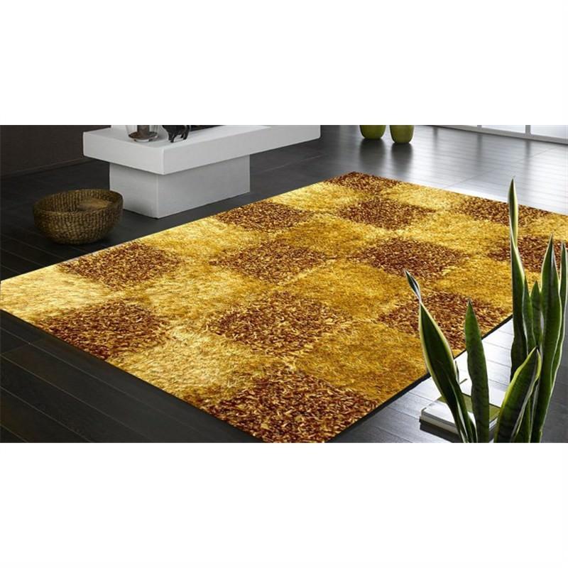 Handmade Shaggy Rug - Borneo Gold460 160 X 230CM