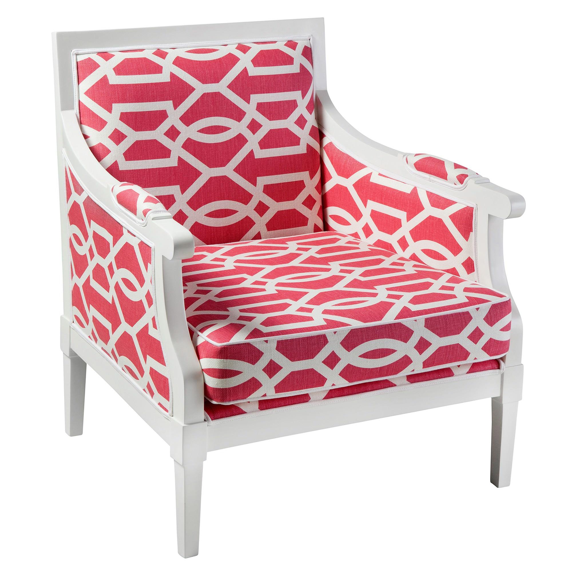 Boston Fabric & Timber Armchair