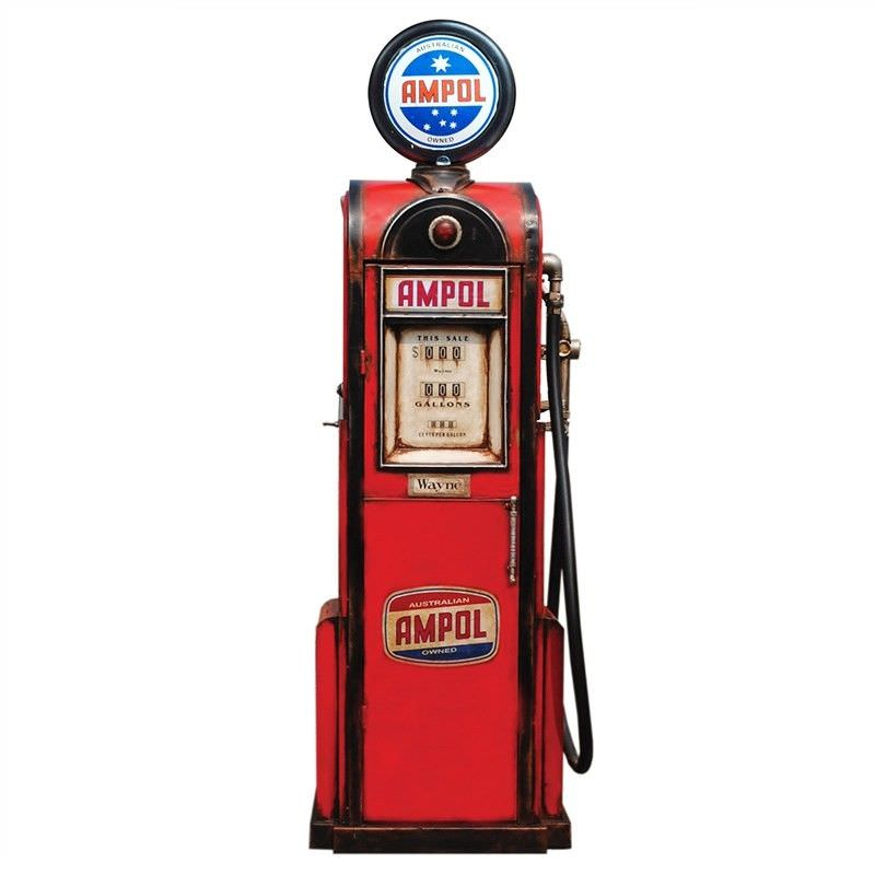 Ampol Petrol Pump Table Decor
