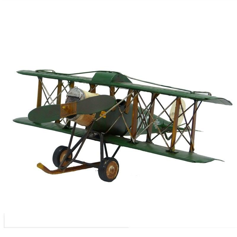 Boutica Handmade Tin Aircraft Model - Queensland Avro Plane