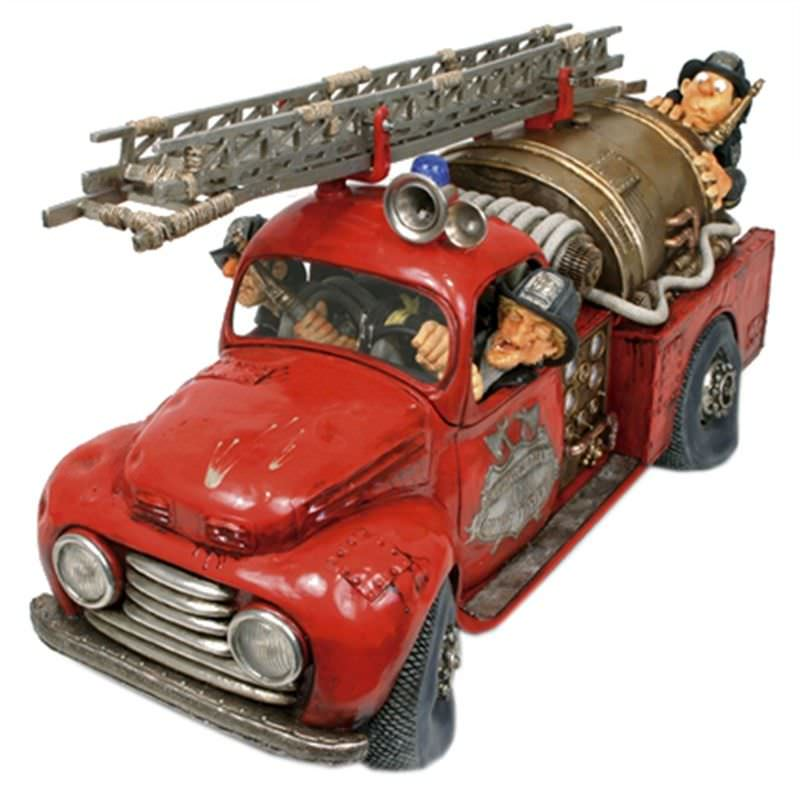 Guillermo Forchino Comic Art Figurine - The Fire Engine