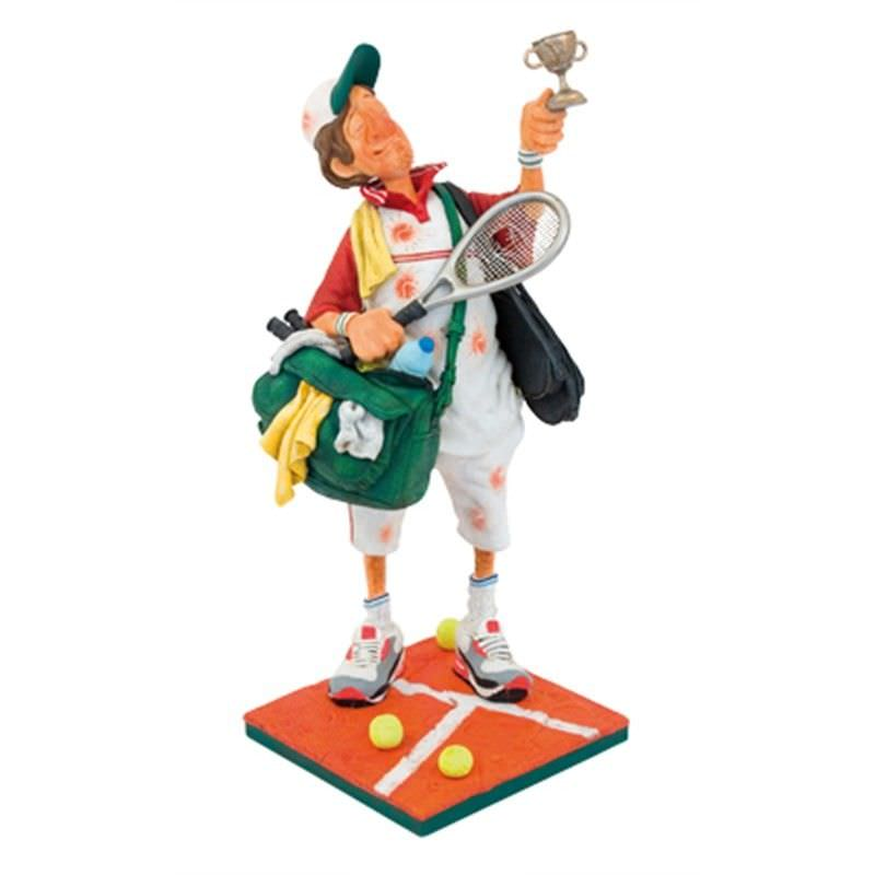 Guillermo Forchino Comic Art Figurine - The Tennis Player