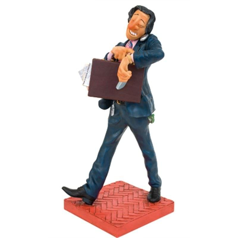 Guillermo Forchino Comic Art Figurine - The Businessman