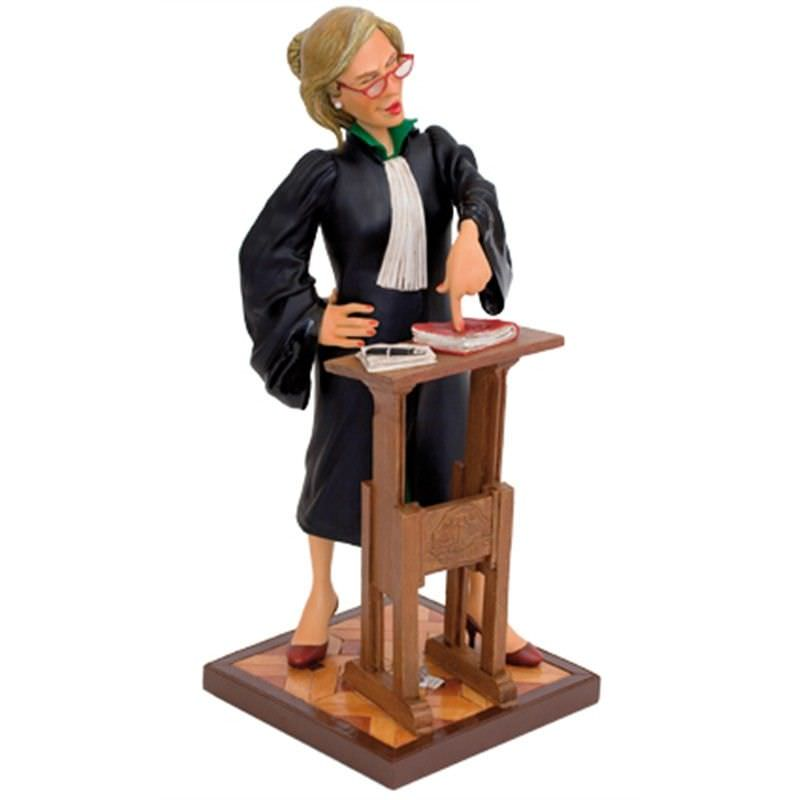 Guillermo Forchino Comic Art Figurine - Lady Lawyer