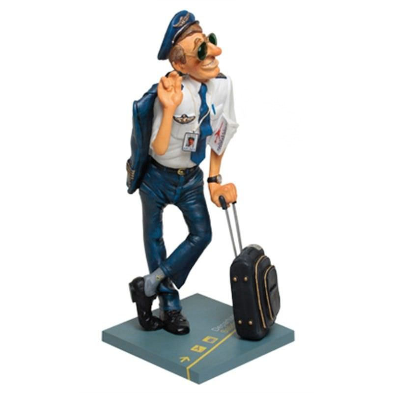 Guillermo Forchino Comic Art Figurine - The Pilot