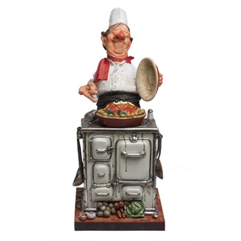Guillermo Forchino Comic Art Figurine - The Master Chef