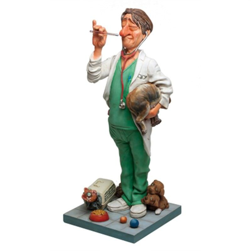 Guillermo Forchino Comic Art Figurine - The Veterinarian
