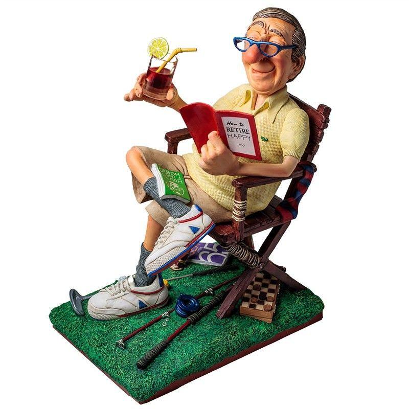 Guillermo Forchino Comic Art Figurine The Retiree