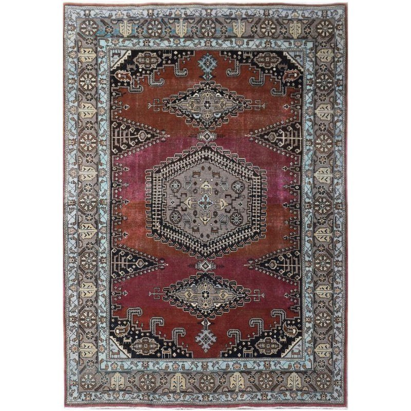 One of A Kind Rea Hand Knotted Wool Persian Rug, 309x209cm