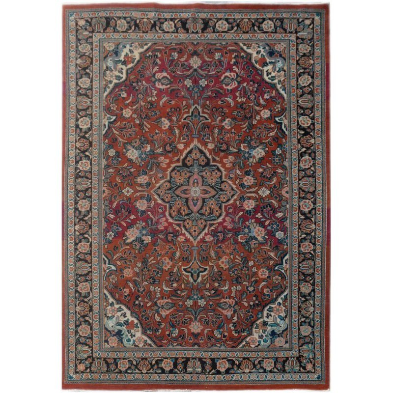 One of A Kind Judah Hand Knotted Wool Persian Rug, 311x210cm