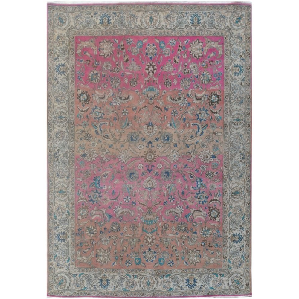 One of A Kind Alaw Hand Knotted Wool Persian Rug, 333x248cm
