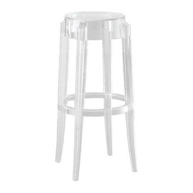 Ghost Stool Replica Philippe Starck 66cm - Clear