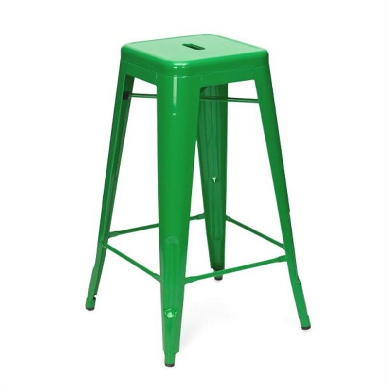 Tolix Bar Stool 65cm - Xavier Pauchard Replica - Lime