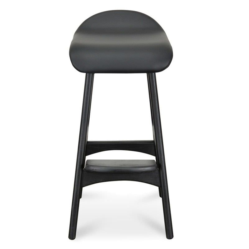 Replica Erik Buch Counter Stool, Black