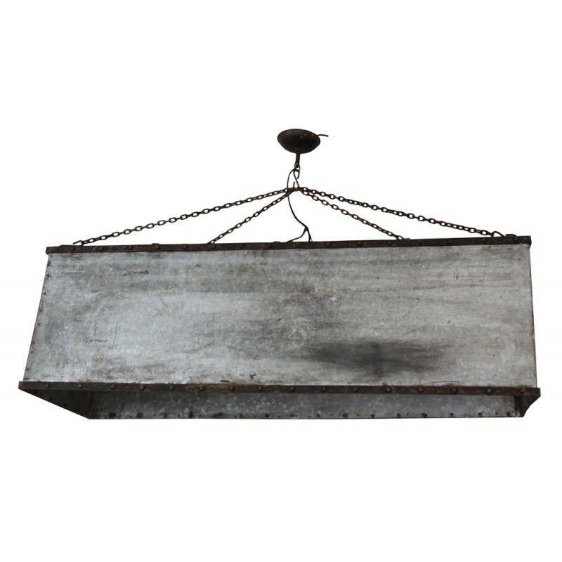 Roth Metal Box Pendant Light