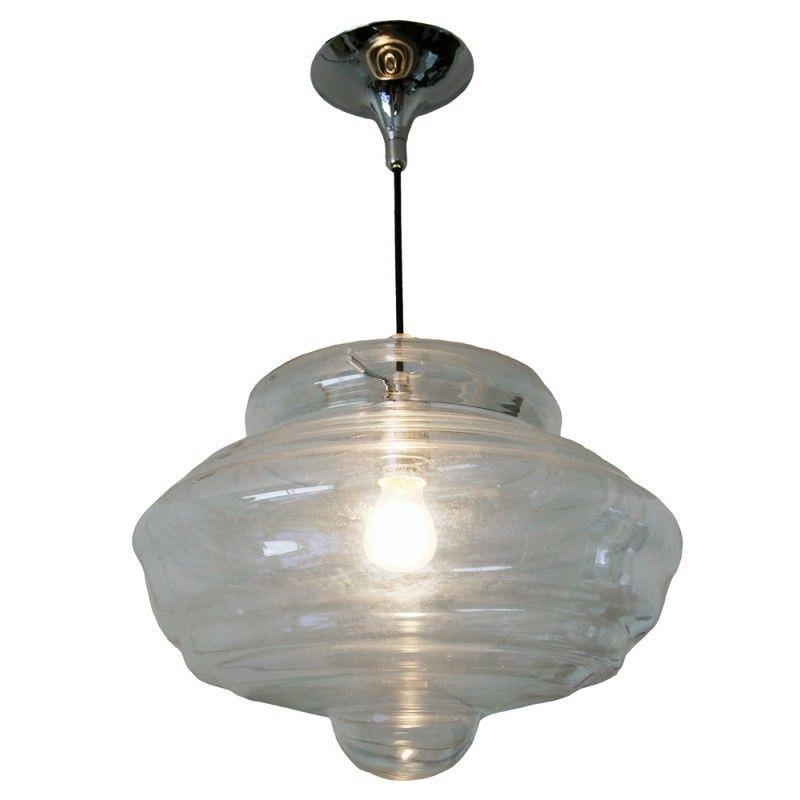 Moroccan Glass Shade Pendant Light - Large