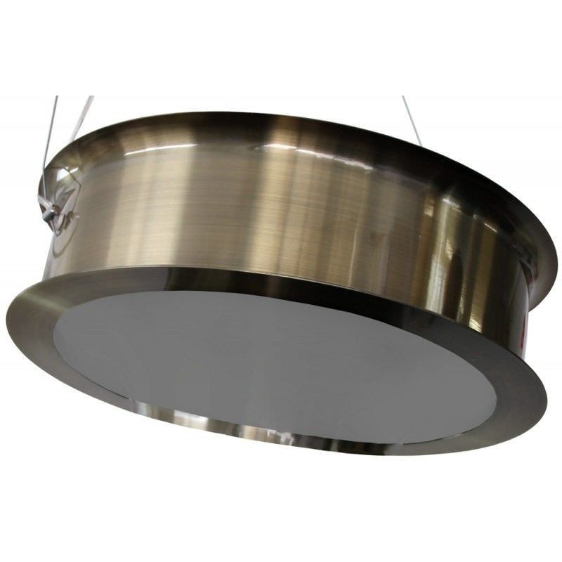 Thum Type C Metal Disc Pendant Light - Brushed Bronze