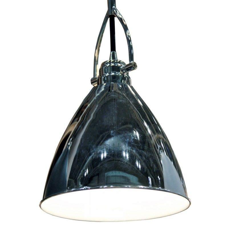 Tonning Dome Pendant Light - Chrome