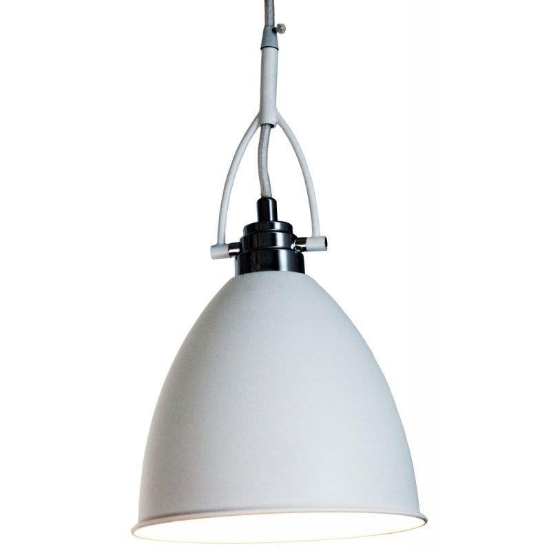 Tonning Dome Pendant Light - White