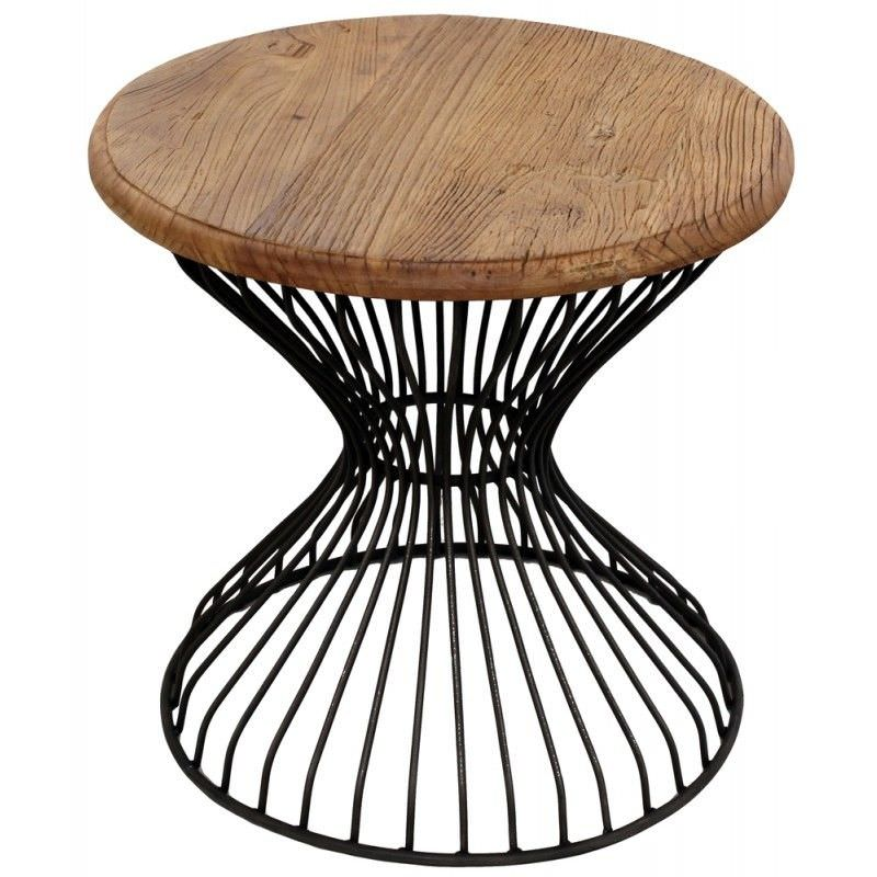 Creek 55cm Iron Round Table