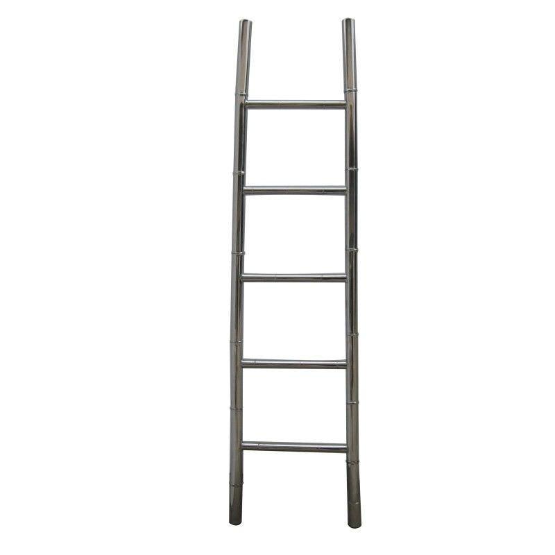 Bamboo Stainless Steel 200cm Ladder