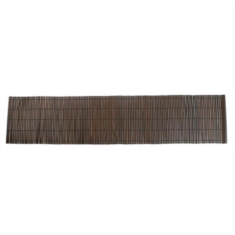 Thin Flat Bamboo Runner -Chocolate
