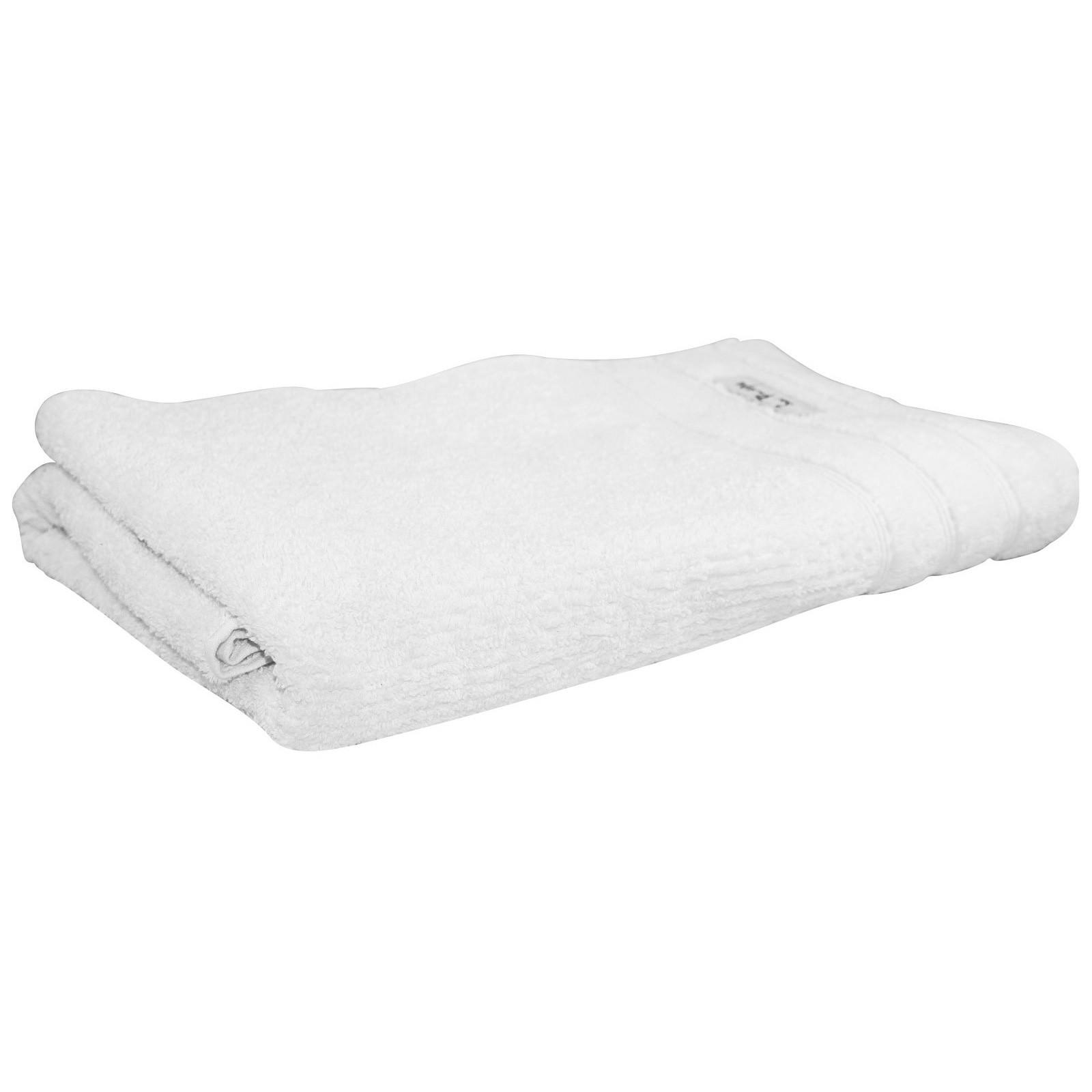Bas Phillips Cairo Egyptian Cotton Bath Towel, White