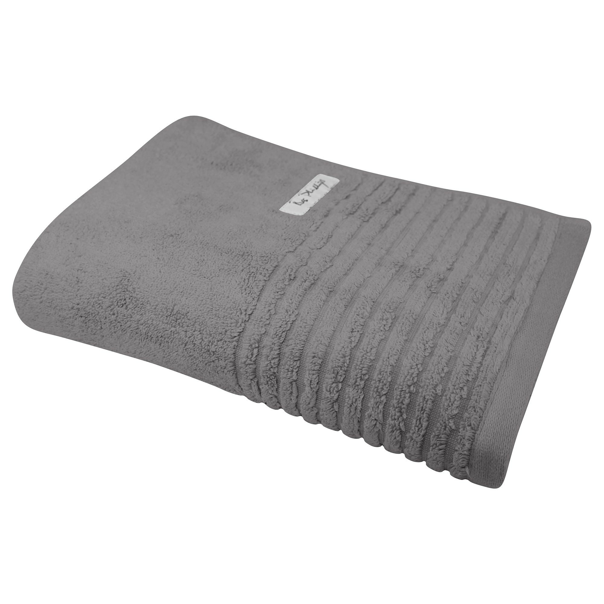 Bas Phillips Hayman Zero Twist Cotton Bath Towel, Cobblestone
