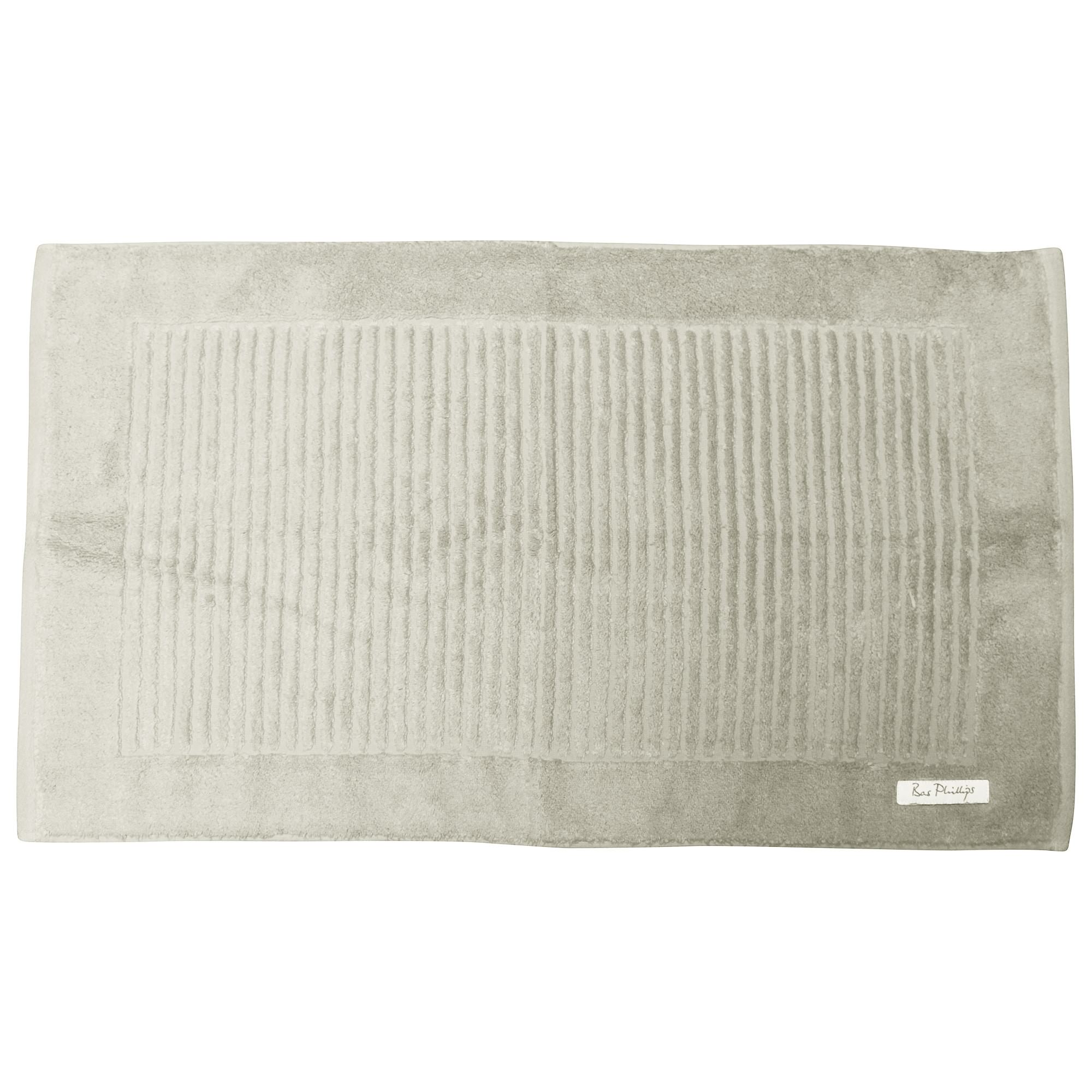 Bas Phillips Hayman Zero Twist Cotton Bath Mat, Oatmeal