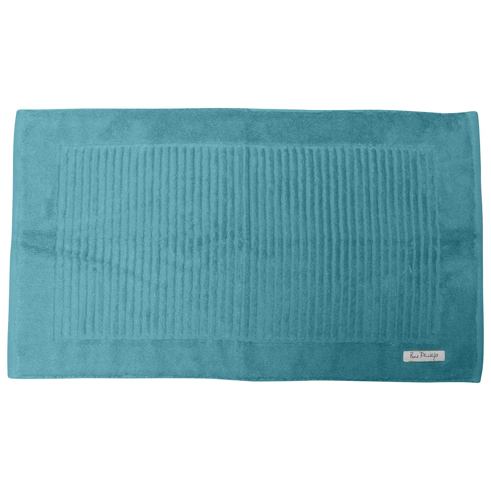 Bas Phillips Hayman Zero Twist Cotton Bath Mat, Ocean
