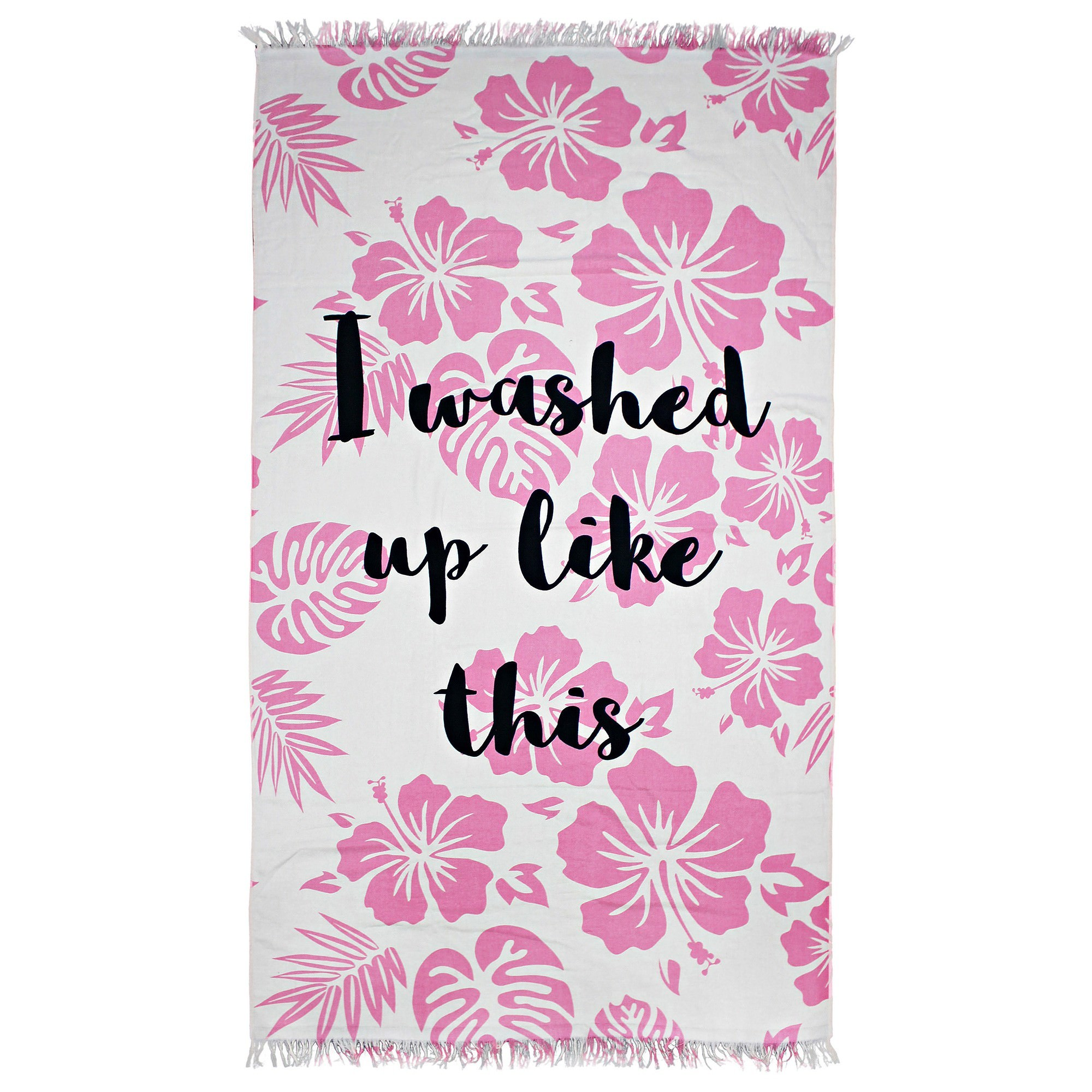 Odyssey Living Cotton Mega Beach Towel, Washed Up, 180cm