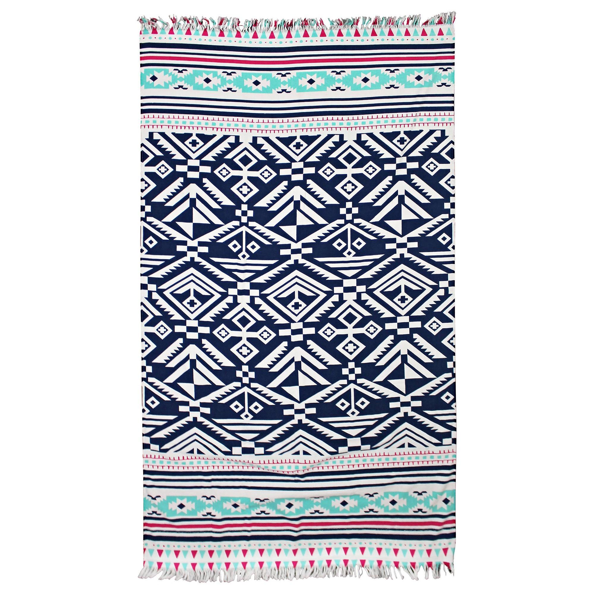 Odyssey Living Cotton Mega Beach Towel, Catalina, 180cm