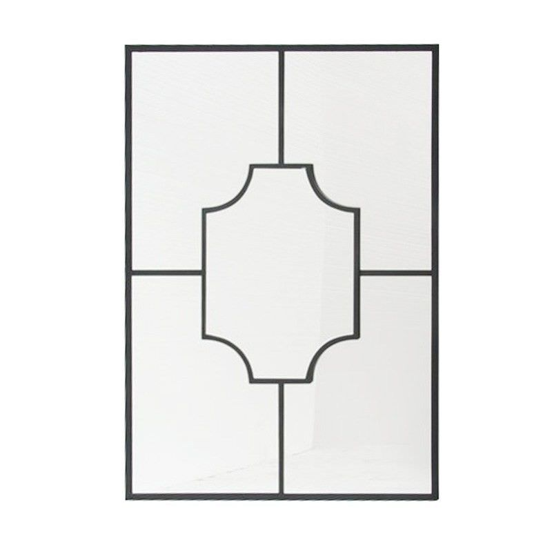 Zaki Metal Frame 70cm Wall Mirror